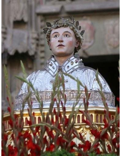 Busto de San Lorenzo