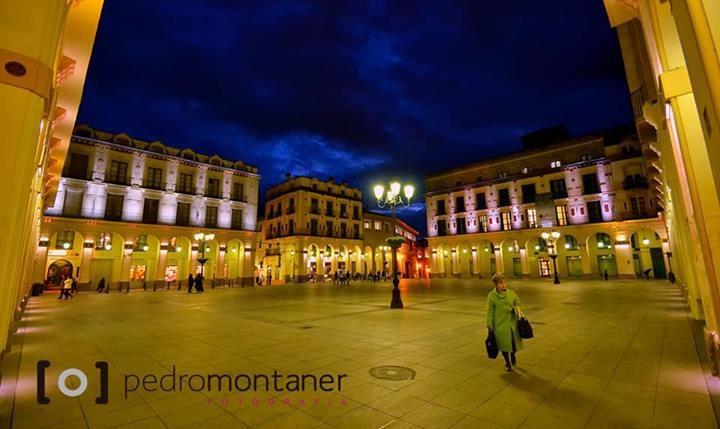 Plaza López Allué. Foto gracias a Pedro Montaner