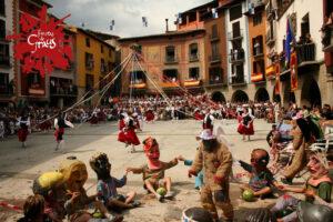 Las fiestas de San Vicente Ferrer, en Graus