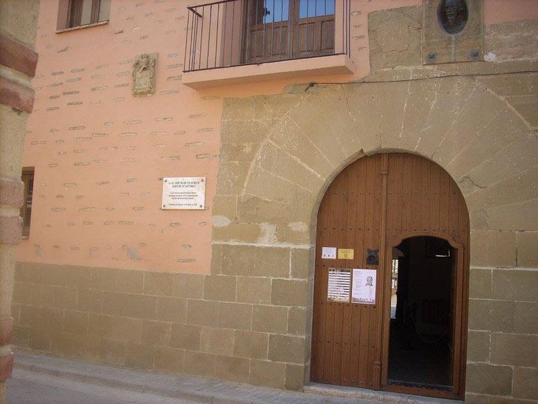 Casa natal de Miguel Servet. Foto gracias a rutastranquilas.blogspot.com.es