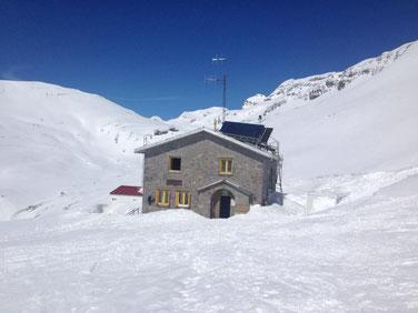 Refugio de Góriz. Foto gracias a Refugio de Góriz