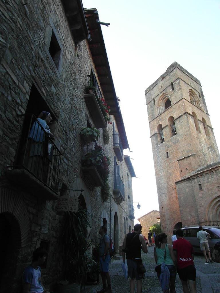Iglesia de Aínsa.