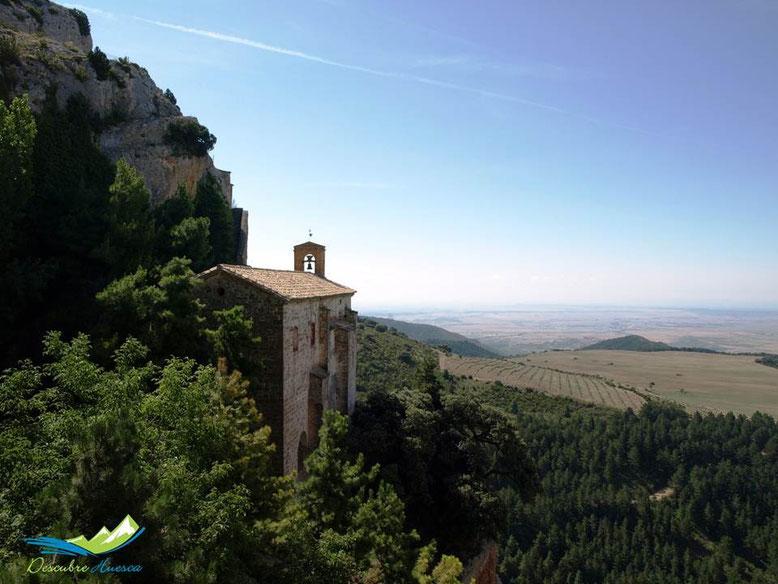 Ermita virgen de la Peña Aniés