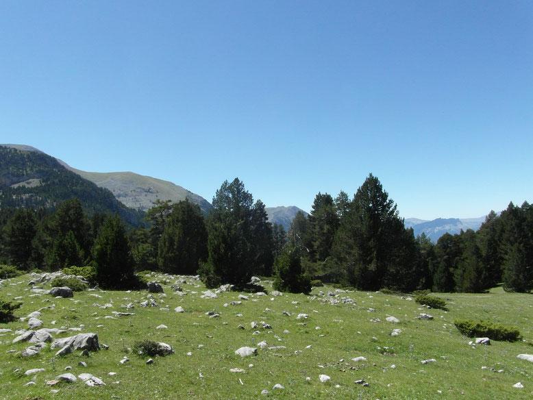 Vistas desde el camino al Mirador de Lavasar. Foto: DescubreHuesca.com
