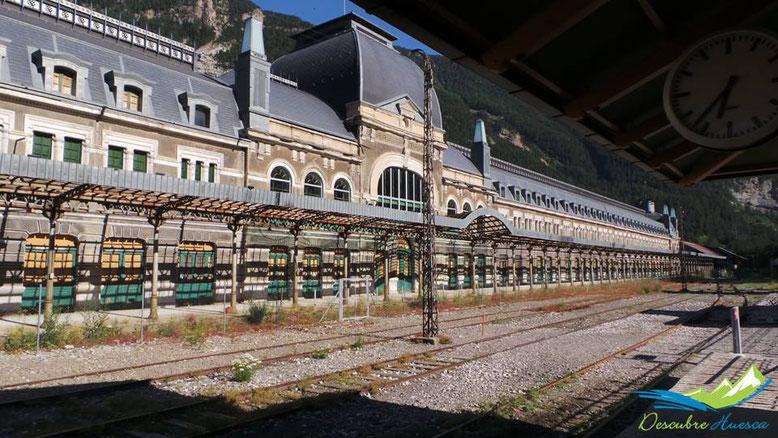 Estacion de ferrocarril de canfranc