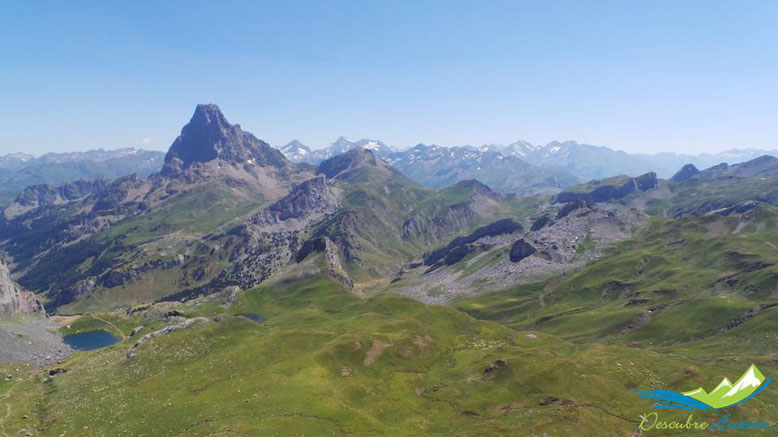 vistas desde el pico de los monjes