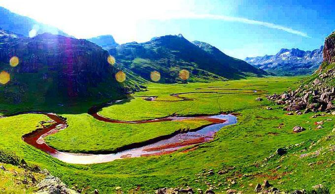 El valle de Aguas Tuertas
