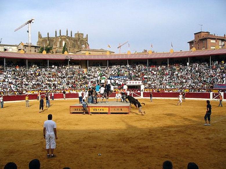 Vaquillas San Lorenzo Huesca Foto gracias a antena3.com