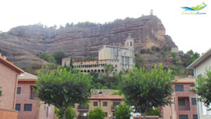 Basílica de la Virgen de la Peña en Graus