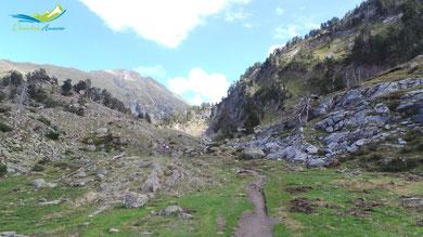 camino de la bersurta a aigualluts 2