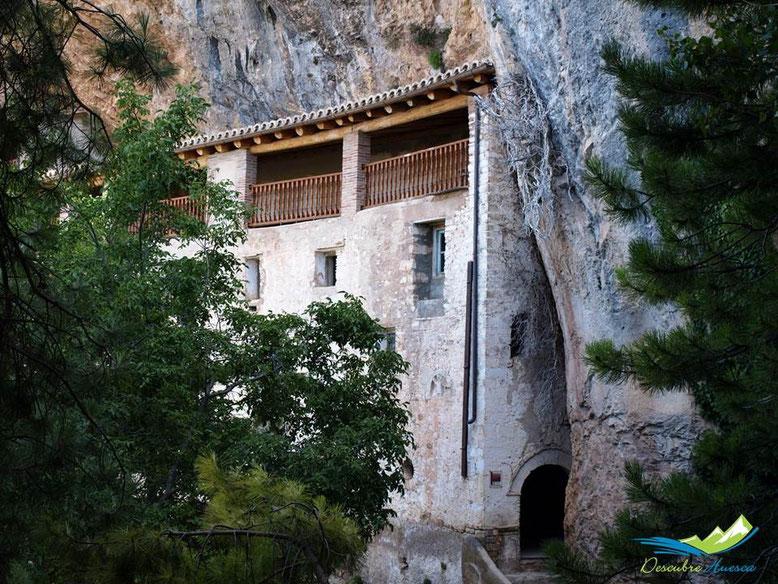 Casa del Santero, Ermita de la Virgen de la Peña, Aniés.