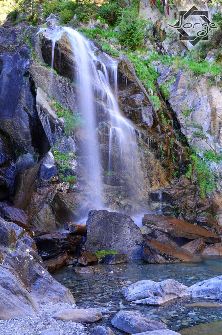 Cascada El Salto, muy cerca de Sallent de Gállego