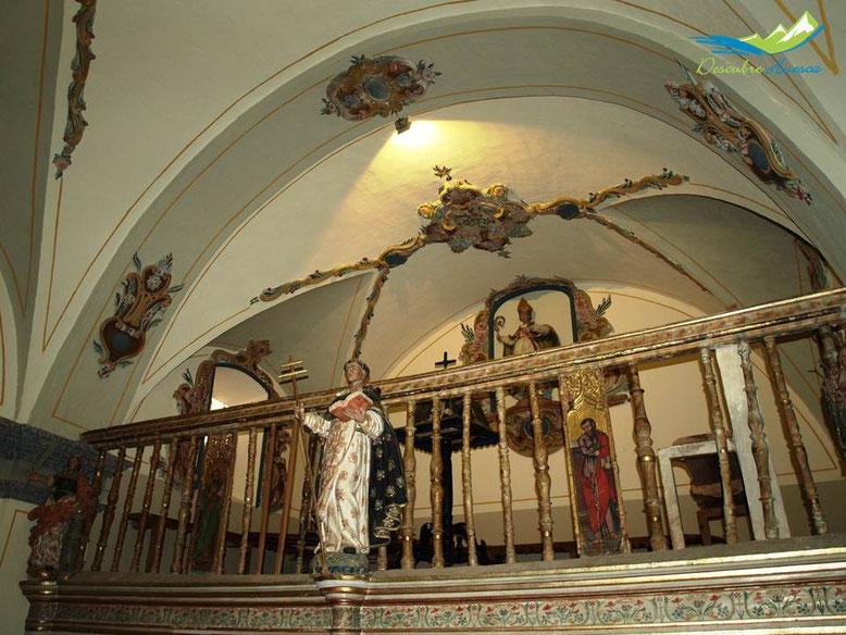 Coro ermita virgen de la Peña.