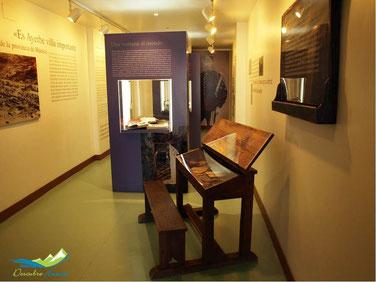 Detalle centro de interpretacion ramón y cajal