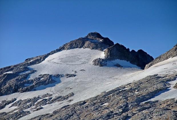 El Aneto y su glaciar.