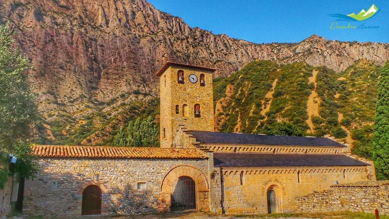 Monasterio de Alaón, en Sopeira.