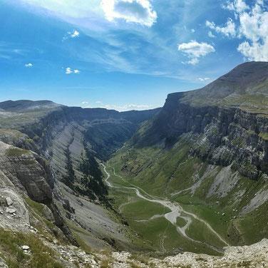 Parque Nacional de Ordesa y Monte Perdido, Huesca.