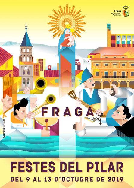 programa fiestas del pilar fraga 2019