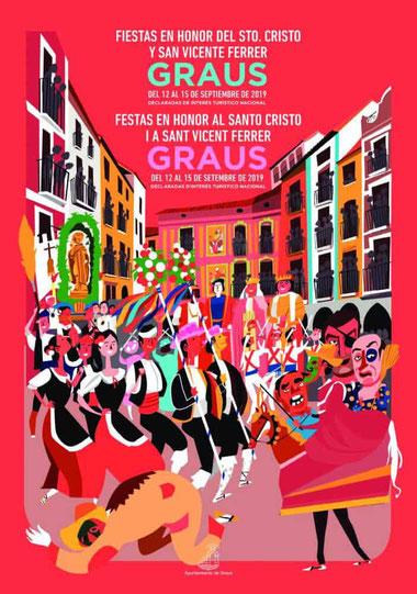 Programa Fiestas Graus 2019