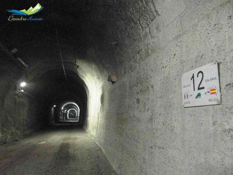 Tunel ferroviario Canfranc, Laboratorio sibterraneo.