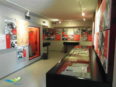 Una de las salas del Centro