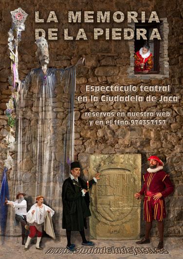 Visitas teatralizadas ciudadela de jaca